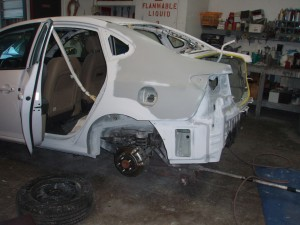 Auto Collision Repair in Ventura 2011 Hyundai