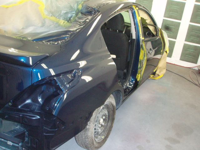 2011 VW Passat SX Collision Repair