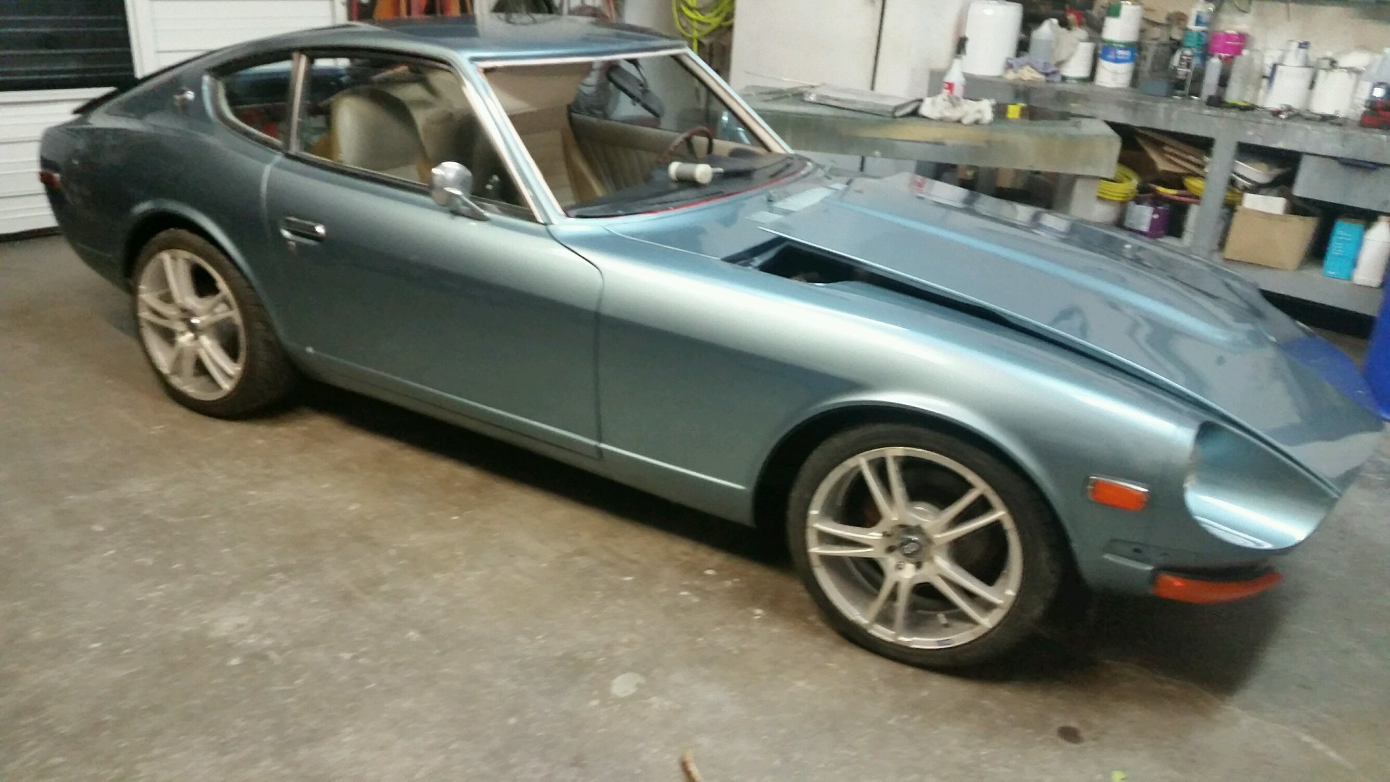 Classic Car Restoration Datsun 1972
