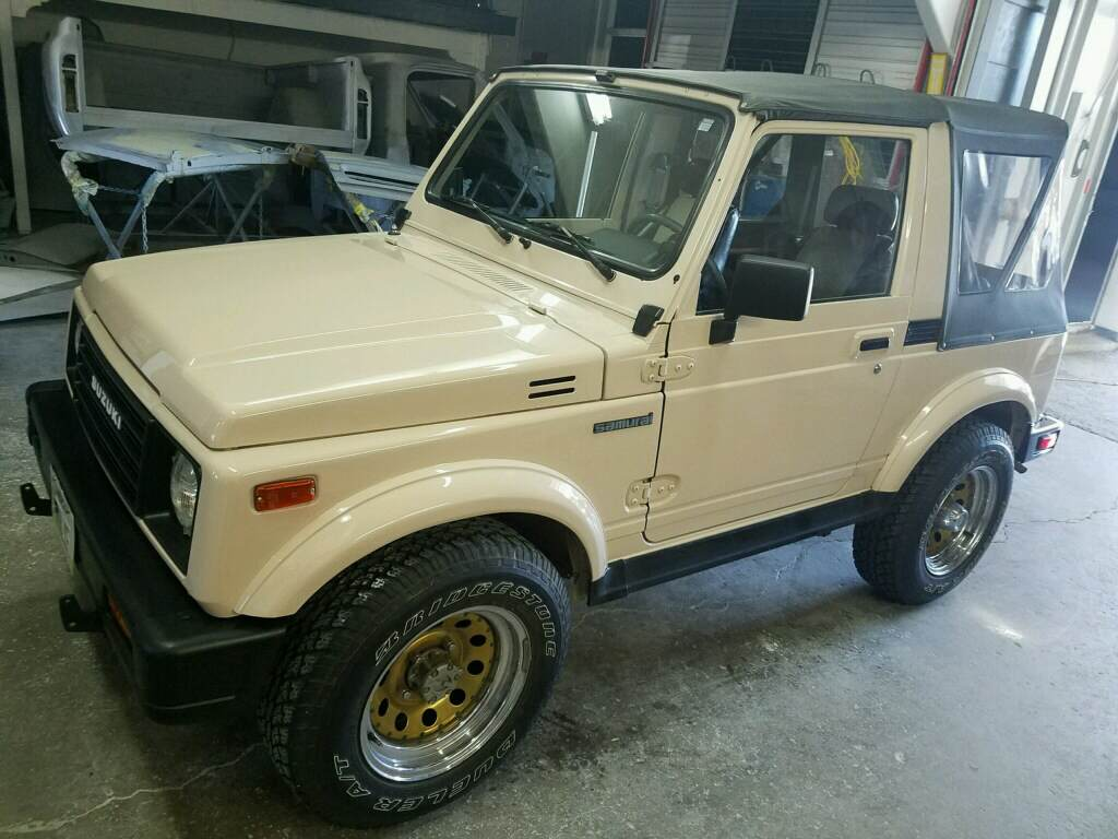 Suzuki Samurai Restoration and Rust Removal