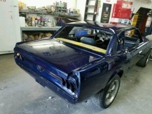 Body Shop Ventura Mustang
