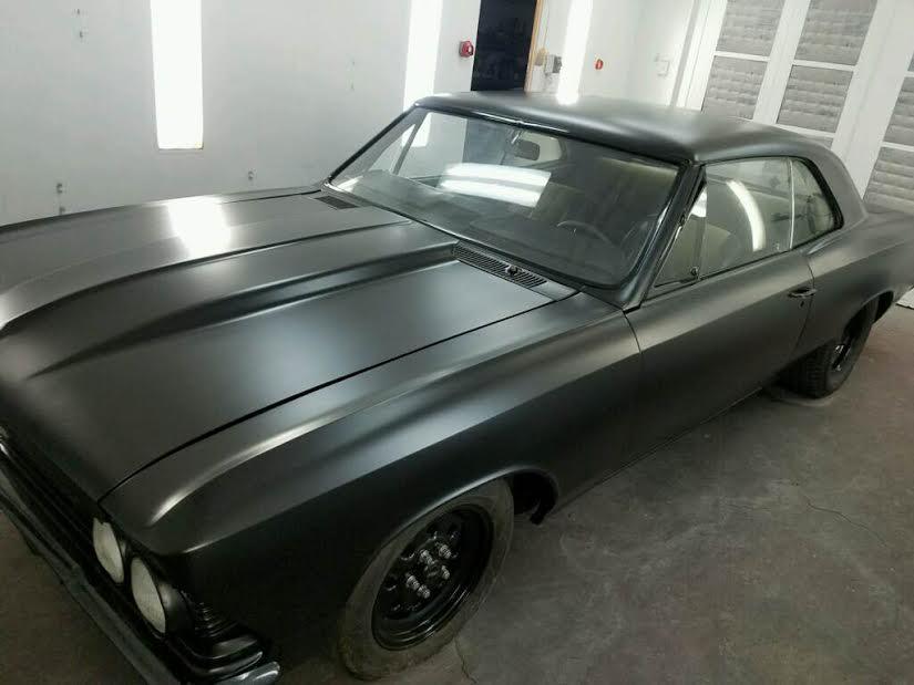 Muscle Car Repaint | Auto Body Ventura - Auto Body and Repair in ...