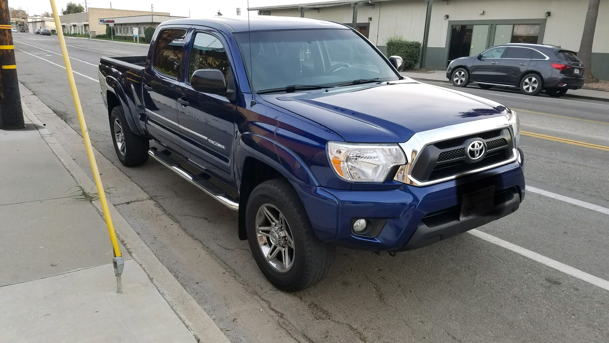 2014 Toyota Tacoma Pre Runner Front End Collision Repair in Ventura