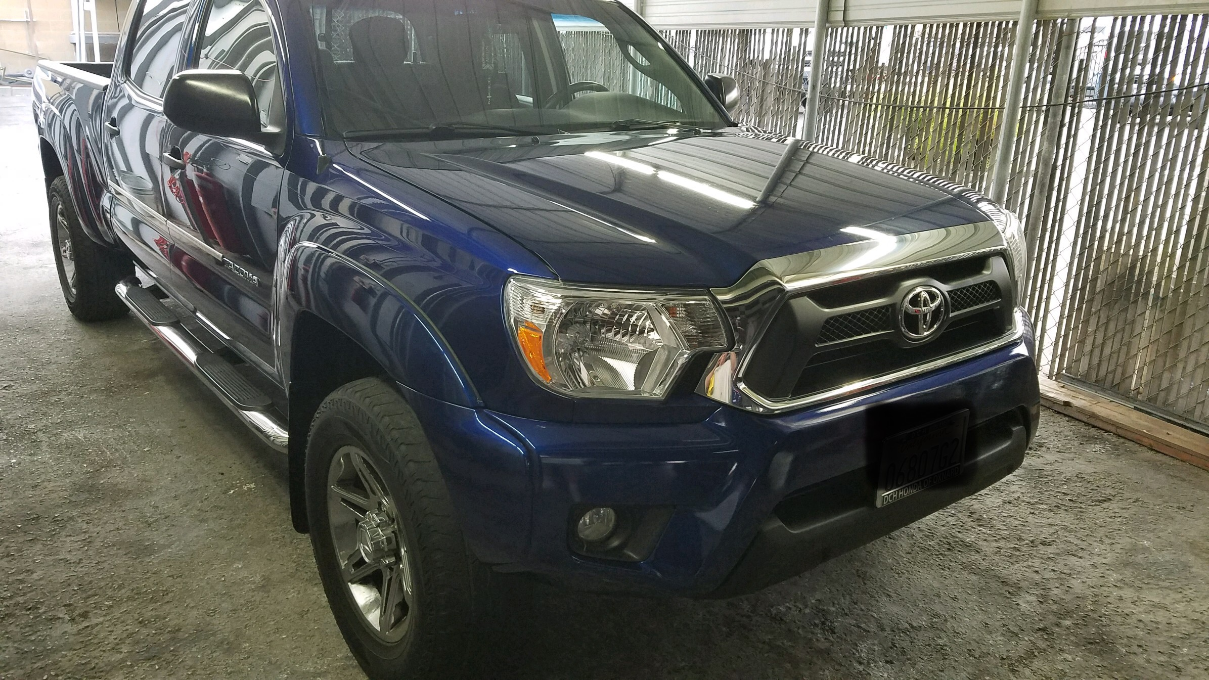 2014 Toyota Tacoma Pre Runner Front End Collision Repair