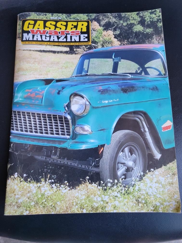 TNS Auto Body is featured in Gasser Magazine