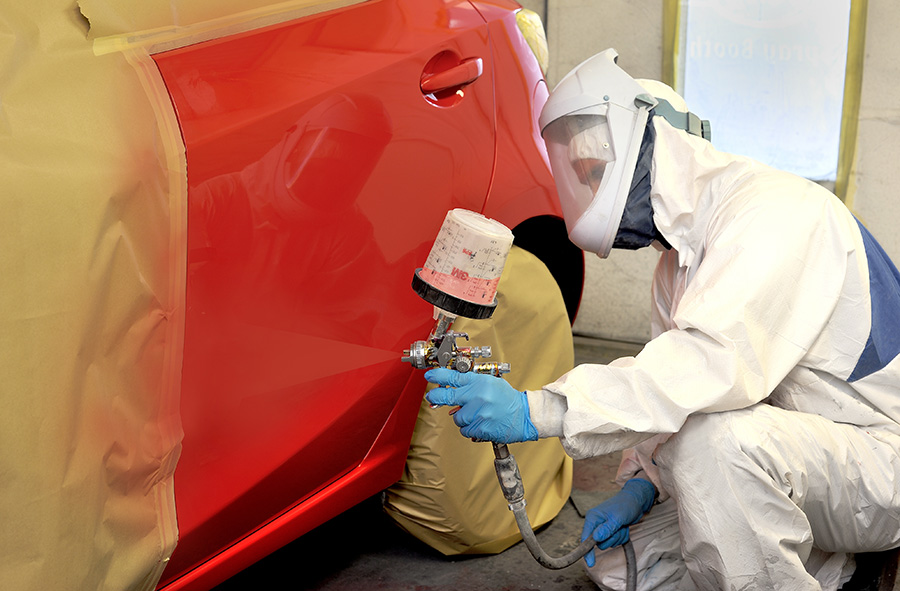 Rust Removal. Onsite Paint Booth and Expert Auto Paint Color Matching
